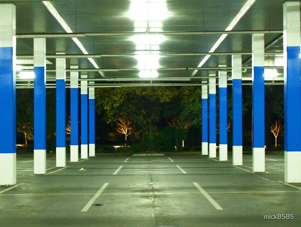 blue poles # 1 by mick8585