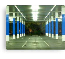 blue poles # 1 Metal Print
