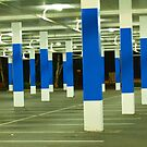 blue poles # 2 by mick8585