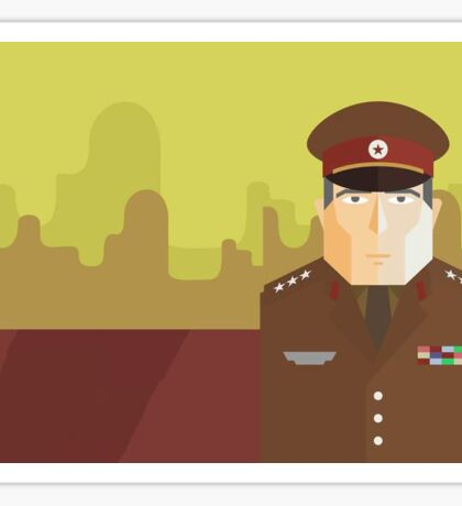 General ~ Brown Uniform Sticker