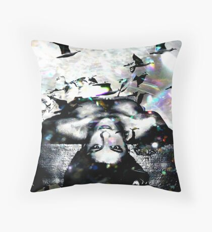"""Delight in Recognition"" Throw Pillow"