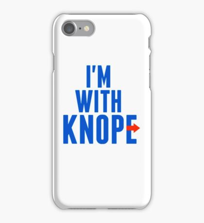 I'm With Knope iPhone Case/Skin