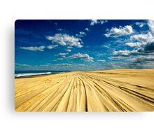 Sandy Highway Canvas Print
