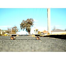 Oldschool Skate Photographic Print