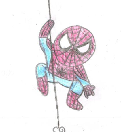 Spider Love Web Sticker