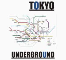 TOKYO UNDERGROUND by maxmenick