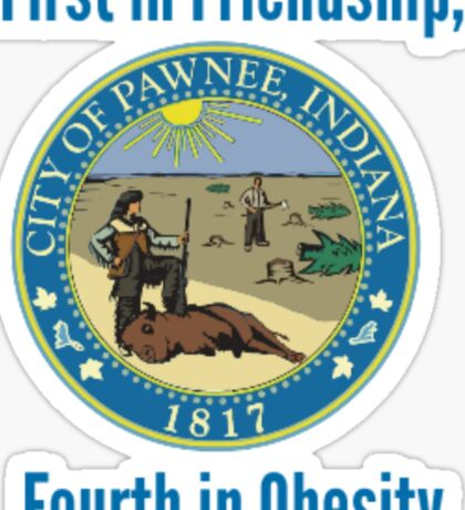 Pawnee, Indiana Sticker