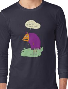Is it Cranky Hour Yet? Long Sleeve T-Shirt