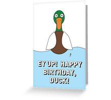 DUCK CARD 3 Greeting Card