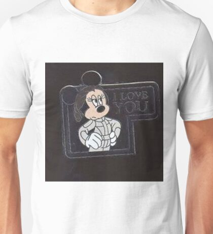 Minnie I love you Unisex T-Shirt
