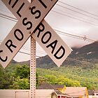 Use Caution When Crossing by Heidelberger Photography
