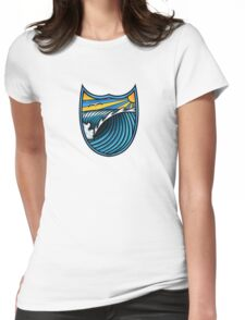 Surf Paradise T Shirt Womens Fitted T-Shirt
