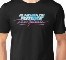 Flashback Future - Blood+Chrome / Lazerhorse SURF'S UP Unisex T-Shirt