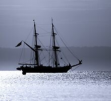 Tall Ship Royalist Mono by Wrayzo