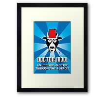 DOCTOR MOO Framed Print