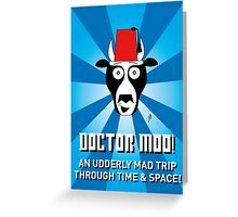 DOCTOR MOO Greeting Card