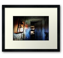 Have a Knock on Our Door Framed Print