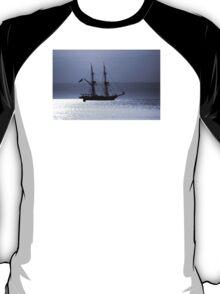 Tall Ship Royalist Mono T-Shirt