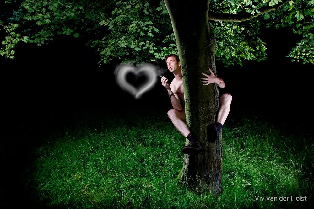 Tree huggers, boomchicawowwow by Viv van der Holst