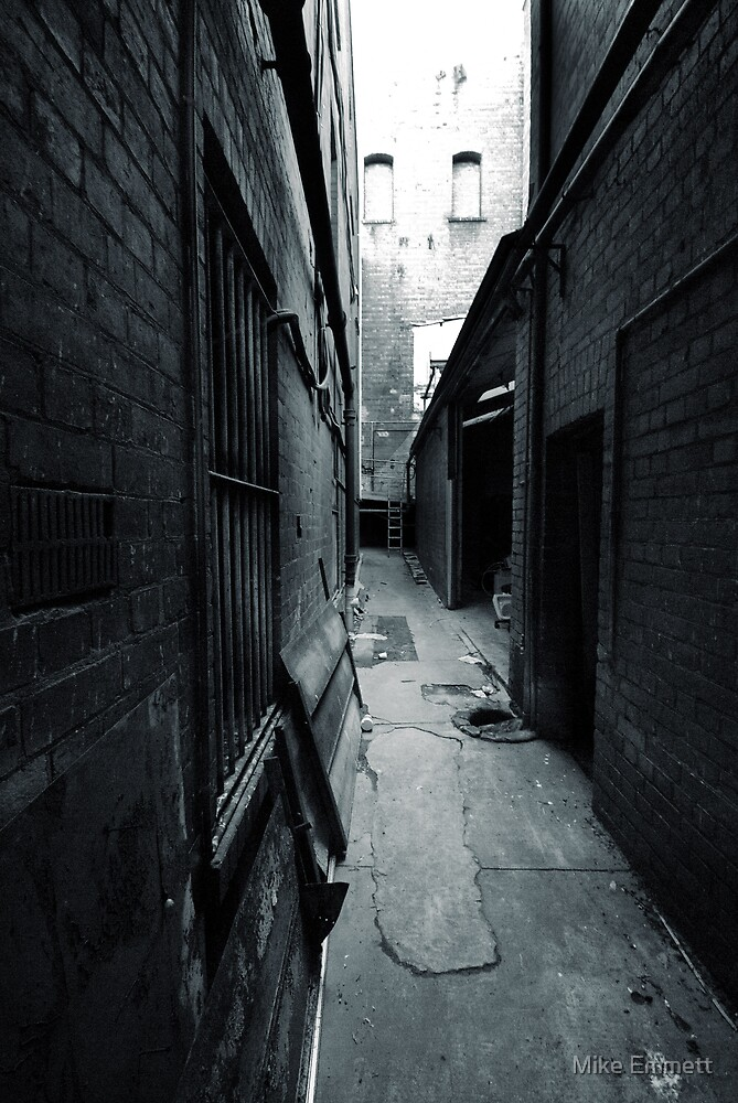 Theatre Alley by Mike Emmett