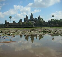 Ankor Wat by yiorgo