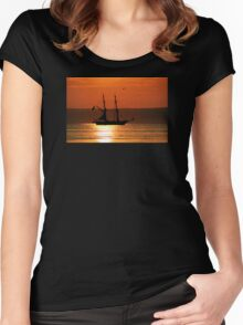 Tall Ship Royalist Women's Fitted Scoop T-Shirt