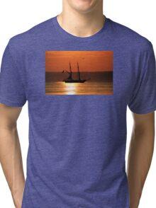 Tall Ship Royalist Tri-blend T-Shirt