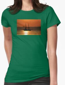 Tall Ship Royalist Womens Fitted T-Shirt