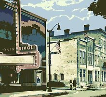 Rivoli & Washington House Inn - Cedarburg WI (muted) by katherinepaulin