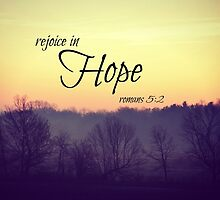 Rejoice in hope by Kimberose