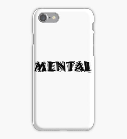 Mental iPhone Case/Skin