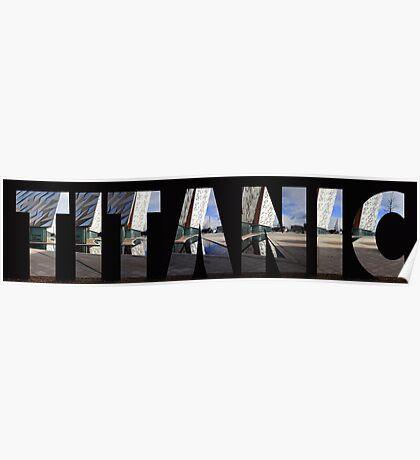 Titanic Museum Belfast Poster