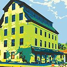 Woolen Mill & Pagoda - Cedarburg WI (bold) by katherinepaulin