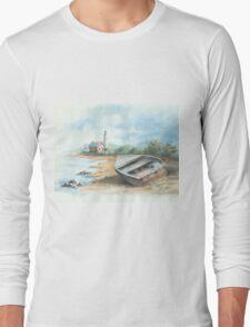 Tawas Point Light House Long Sleeve T-Shirt