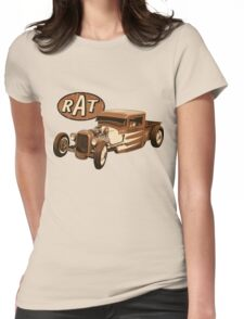 RAT - Racer Womens Fitted T-Shirt