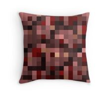 Minecraft Netherrack Block Throw Pillow