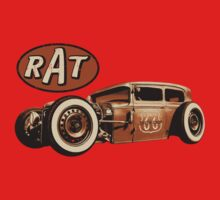 RAT - Route 66 Kids Tee