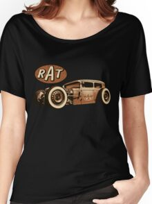 RAT - Route 66 Women's Relaxed Fit T-Shirt