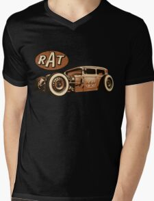 RAT - Route 66 Mens V-Neck T-Shirt