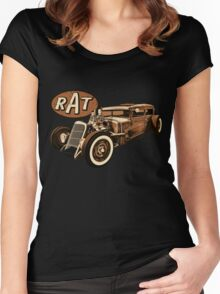 RAT - Low & Slow Women's Fitted Scoop T-Shirt