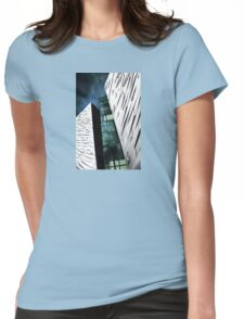 Titanic Museum Blue Phase Womens Fitted T-Shirt