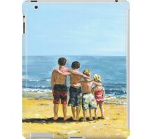 Children on Beach iPad Case/Skin
