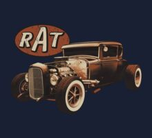 RAT - Black Rat by hotrodz