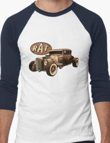 RAT - Black Rat Men's Baseball ¾ T-Shirt