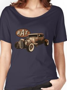 RAT - Black Rat Women's Relaxed Fit T-Shirt