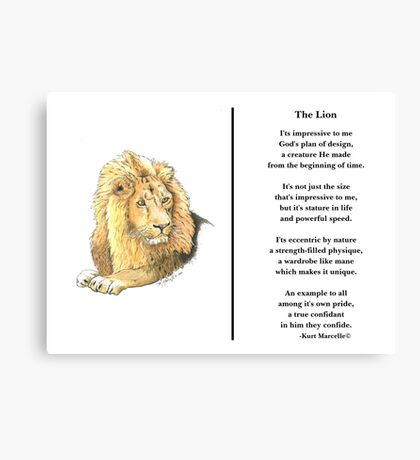 Ruler of Pride Canvas Print