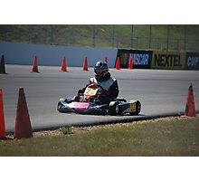 Go Kart Racing 2 Photographic Print