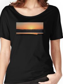 Sunrise Dundrum Bay Women's Relaxed Fit T-Shirt