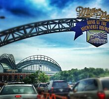 Gameday at Miller Park by katherinepaulin