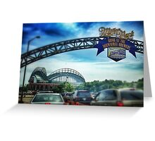 Gameday at Miller Park Greeting Card